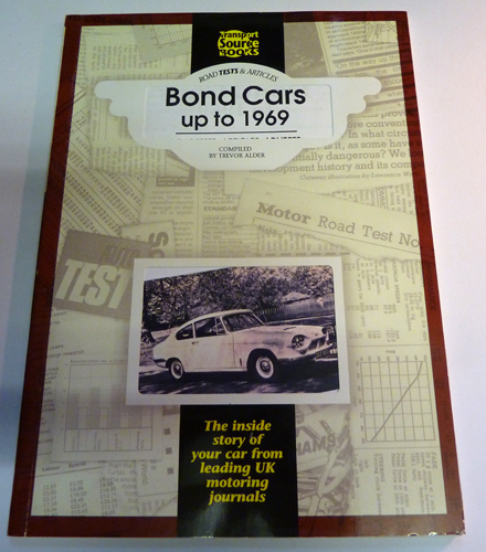 Image for Road Tests & Articles: Bond Cars Up to 1969 (TSB 280)