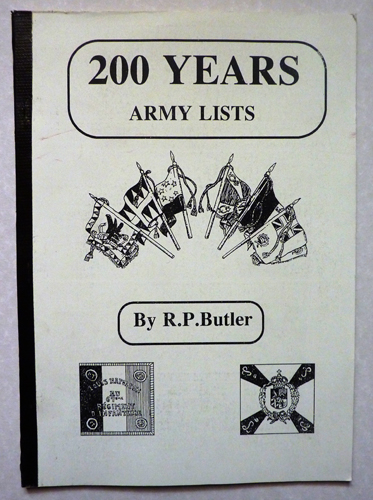 Image for 200 Years Army Lists