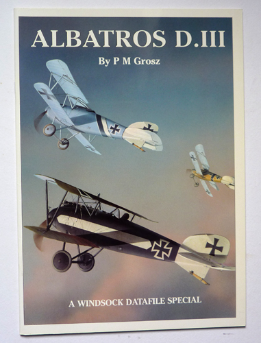 Image for A Windsock Datafile Special: Albatros D.III