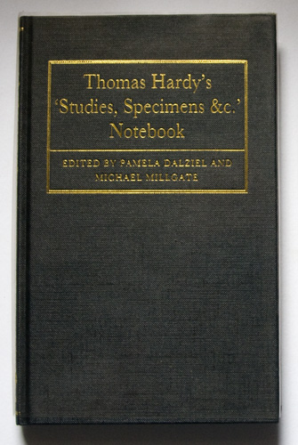 Image for Thomas Hardy's 'Studies, Specimens &c.' Notebook