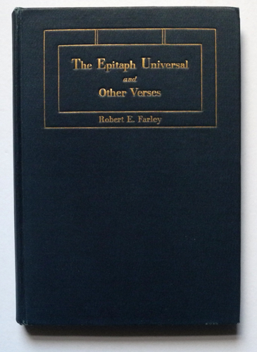 Image for The Epitaph Universal and Other Verses