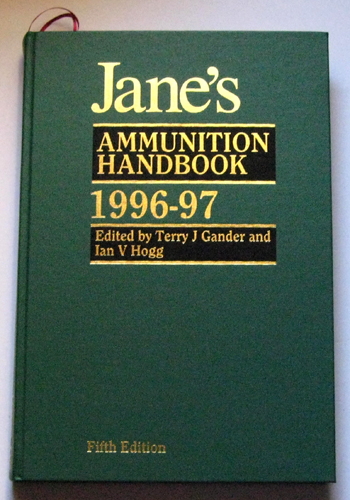 Image for Jane's Ammunition Handbook. 5th Edition. 1996-97