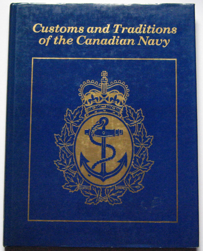 Image for Customs and Traditions of the Canadian Navy