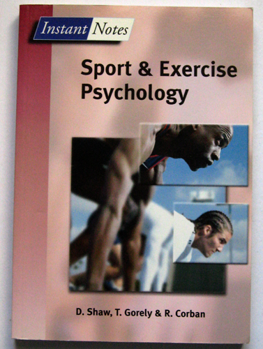 Image for Instant Notes in Sport and Exercise Psychology