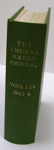 Image for The Thomas Hardy Journal Volumes I - IV 1985 - 1988
