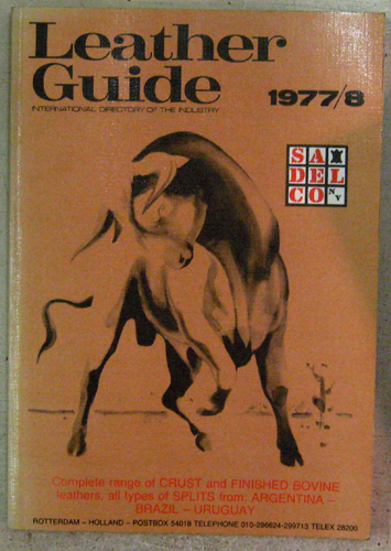 Image for European Leather Guide 1977/8: International Directory of the Industry