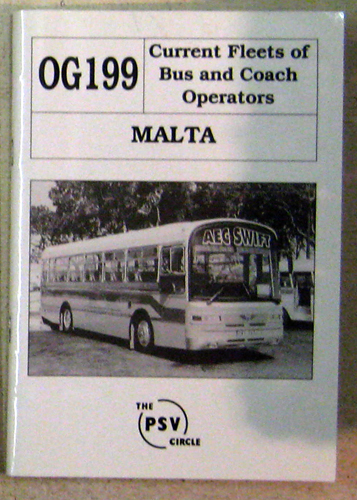 Image for Current Fleets of Bus and Coach Operators. OG199: Malta