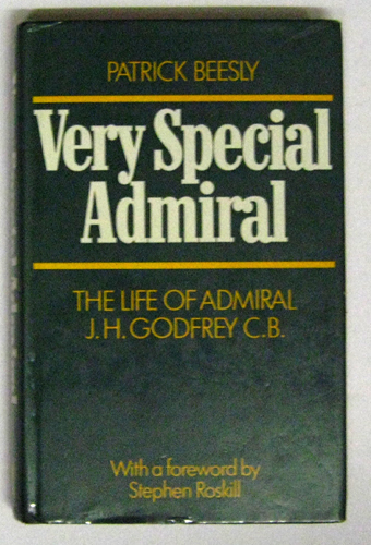 Image for Very Special Admiral: The Life of Admiral JH Godfrey, CB