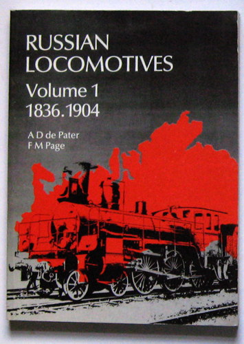 Image for Russian Locomotives Volume 1 1836-1904