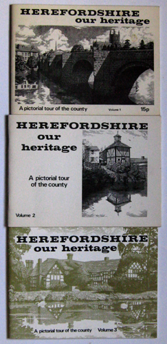 Image for Herefordshire: Our Heritage. A Pictorial Tour of the County. Volumes 1, 2 & 3.