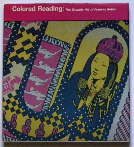 Image for Colored (Coloured) Reading: The Graphic Art of Frances Butler