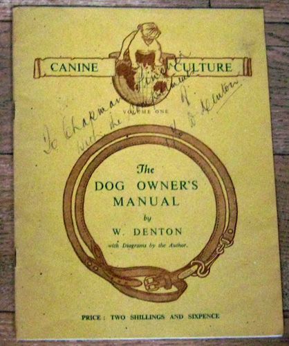 Image for Canine Culture Volume One: The Dog Owner's Manual