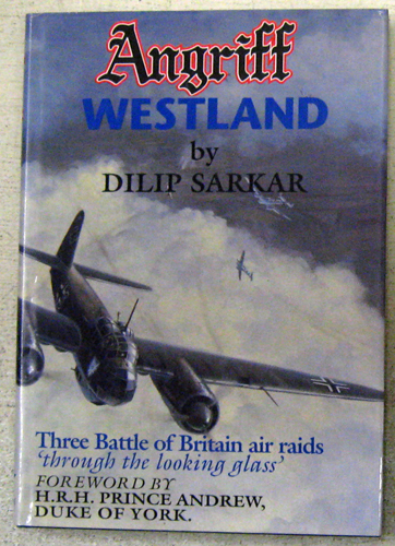 Image for Angriff Westland: Three Battle of Britain Air Raids 'Through the Looking Glass'
