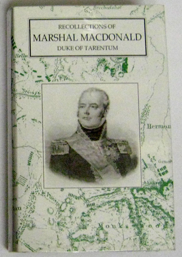Image for Recollections of Marshal Macdonald, Duke of Tarentum