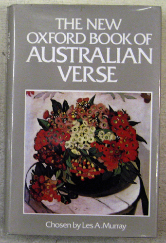 Image for The New Oxford Book of Australian Verse