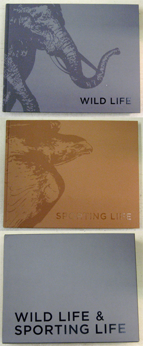 Image for Wild Life & Sporting Life: 2 Volume Set in Slipcase
