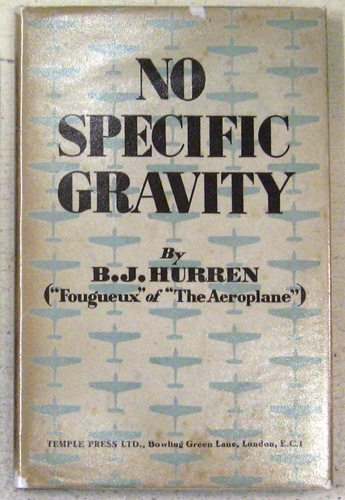 Image for No Specific Gravity