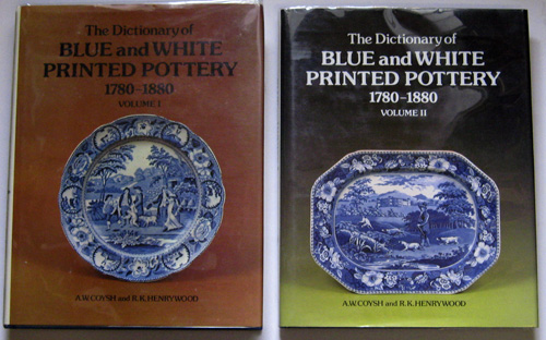 Image for The Dictionary of Blue and White Printed Pottery 1780 - 1880. 2 Volume Set
