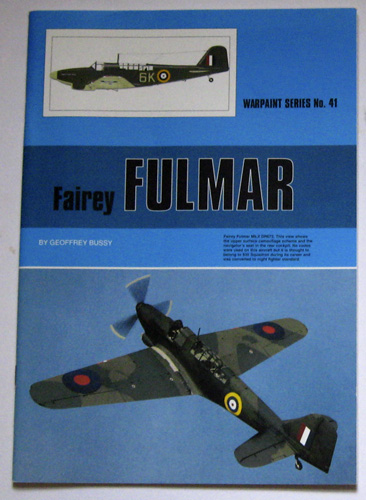 Image for Warpaint Series No.41: Fairey Fulmar