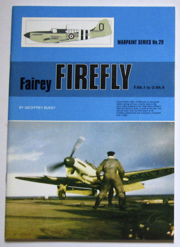 Image for Warpaint Series No.28: Fairey Firefly