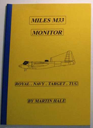 Image for Miles M33 Monitor: Royal Navy Target Tug
