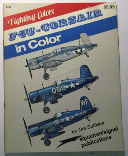 Image for F4U Corsair in Color (Colour) - Fighting Colors series (6503)