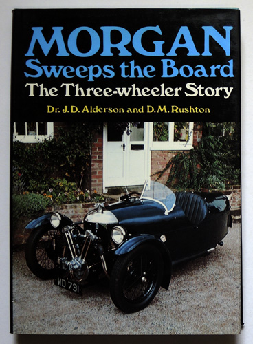 Image for Morgan Sweeps the Board; The Three Wheeler Story
