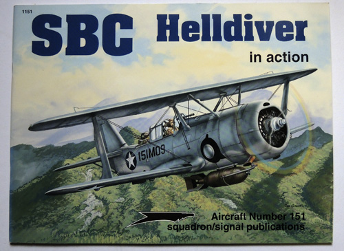 Image for SBC Helldiver in Action. Aircraft No. 151