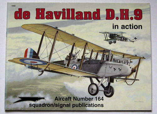 Image for de Havilland D.H. 9 (DH9) in action - Aircraft No. 164