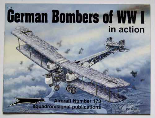 Image for German Bombers of World War I in action - Aircraft No. 173
