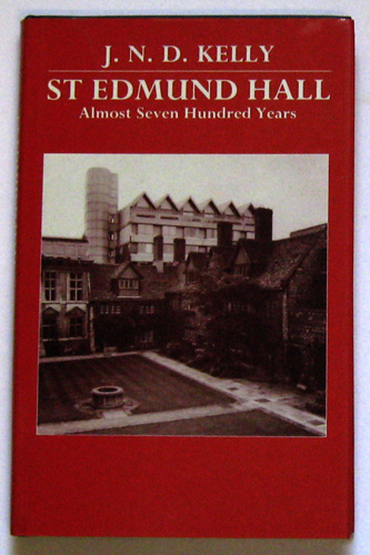 Image for St. Edmund Hall: Almost Seven Hundred Years