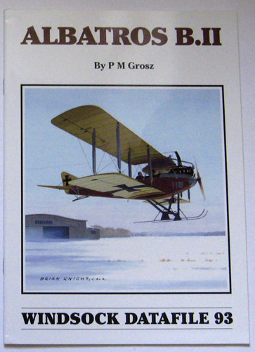 Image for Windsock Datafile No. 093: Albatros B.II
