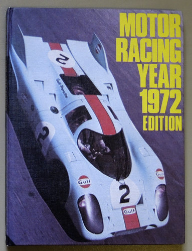 Image for Motor Racing Year 1972 Edition