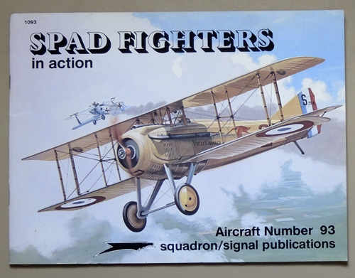 Image for SPAD Fighters in Action - Aircraft No. 93