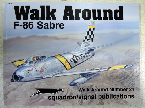 Image for Walk Around No. 21: F-86 Sabre