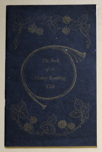 Image for The Book of the History Rambling Club