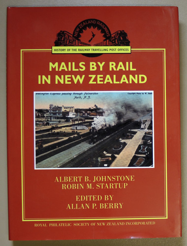 Image for Monograph Handbook No.12. Mails by Rail in New Zealand: The Story of the Railway Travelling Post Offices of New Zealand