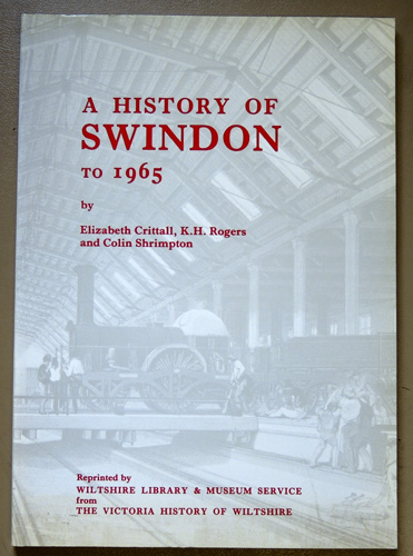 Image for A History of Swindon to 1965