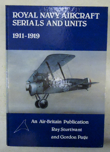 Image for Royal Navy Aircraft Serials and Units, 1911 - 1919