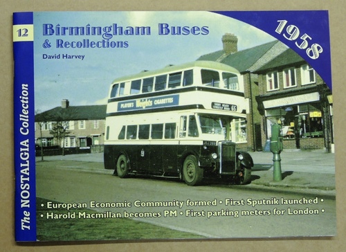 Image for The Nostalgia Collection No.12: Birmingham Buses & Recollections 1958