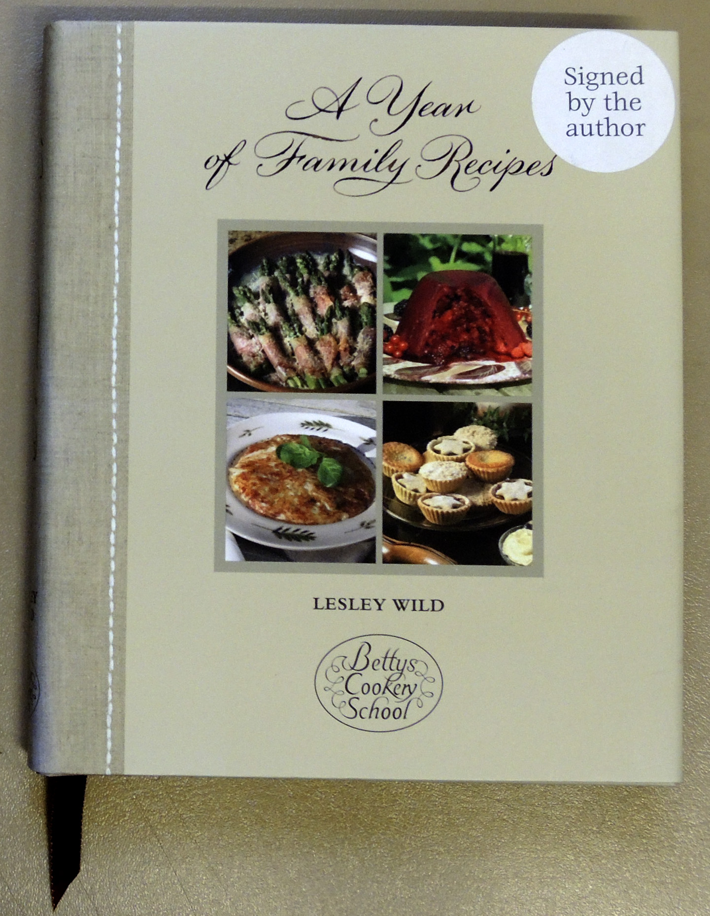 Image for A Year of Family Recipes (Bettys Cookery School)