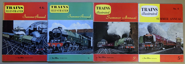 Image for Trains Illustrated Summer Annual Nos. 1 - 4