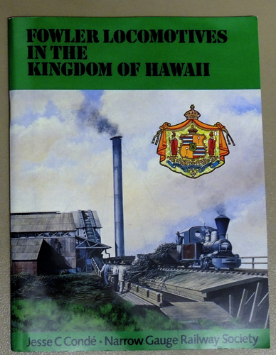 Image for Fowler Locomotives in the Kingdom of Hawaii