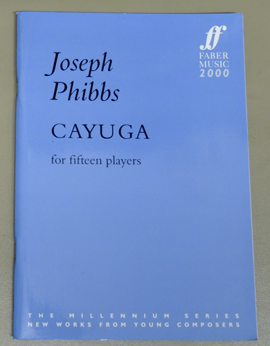 Image for Cayuga: For Fifteen Players (1999) (Score)