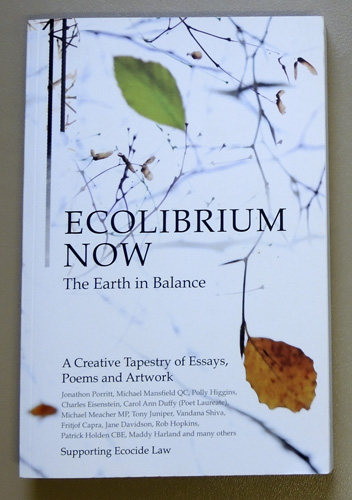 Image for Ecolibrium Now: The Earth in Balance. A Creative Tapestry of Essays, Poems and Artwork