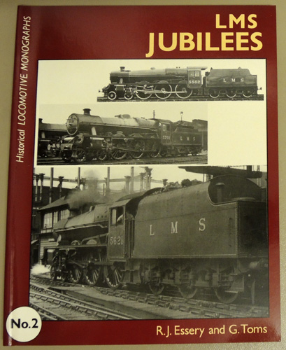 Image for Historical Locomotive Monographs No.2: LMS Jubilees
