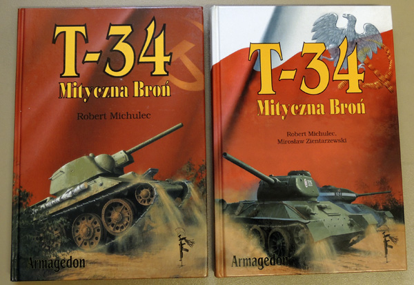 Image for T-34 Mityczna Bron Tom I & II (Mythical Weapon Volume I & II)