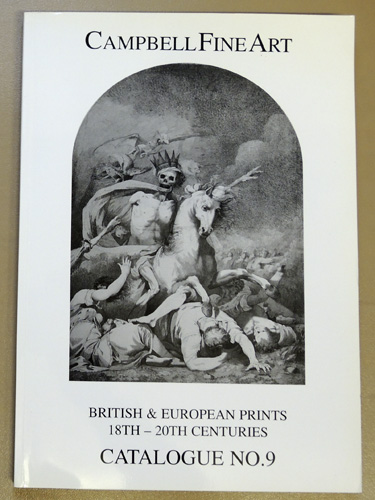Image for British & European Prints 18th - 20th Centuries Catalogue No.9