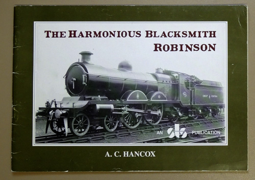 Image for The Harmonious Blacksmith Robinson: Volume One of a Biography. The Charles Reddy Drawings