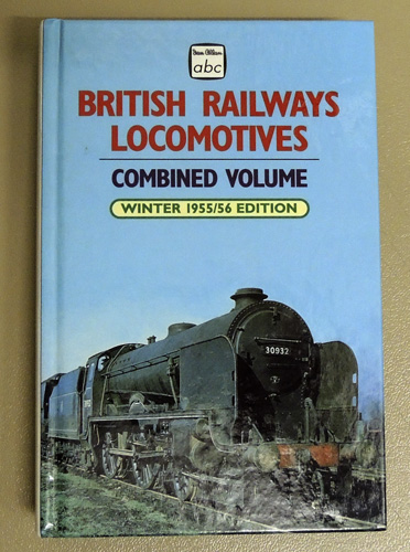 Image for Ian Allan abc: British Railways Locomotives Combined Volume: Winter 1955/56 Edition